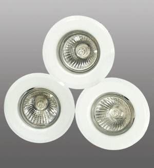 Osvětlení interiérové bodové BRILUM ALPE 1603, chrom, OS-AL1603-70, GU10, 50W - 3 ks