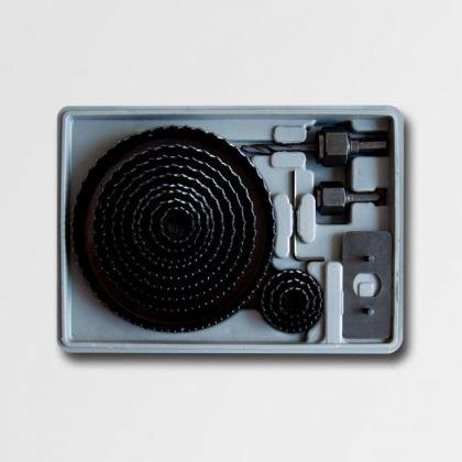 Vykružovač STAVTOOL Vykružovací sada 19mm-127mm 16dílů, P11804