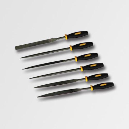 Pilník / rašple STAVTOOL Sada jehlových pilníku 6dílů P18801