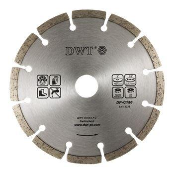 Diamantový kotouč DWT DS-125 A, diamantový segmentovaný kotouč 125 mm (abrazivní materiály)
