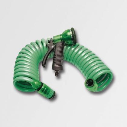Hadice zahradní smršťovací XTline 45301, Spirálová hadice 15M sada