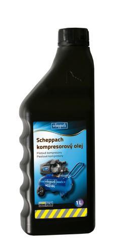 Olej SCHEPPACH Olej kompresorový 1L - 3906100701