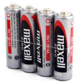 Baterie AA MAXELL R6 4S Zinc 4x AA SHRINK