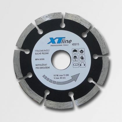 Diamantový kotouč XTline HDS125 125x22,2