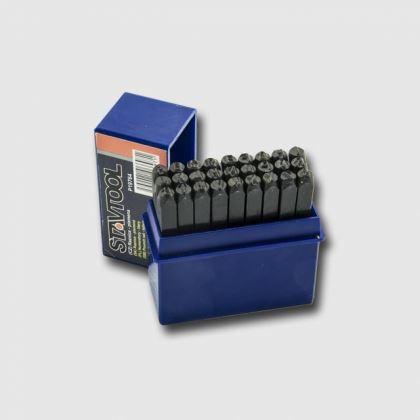 Sada razníků XTline Raznice písmena 6 mm P19766