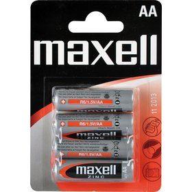 Baterie AA MAXELL R6 4BP Zinc 4x AA