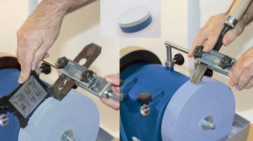 OEM Scheppach 3dílná sada přípravků na broušení