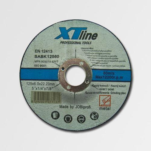 Brusný kotouč 115 mm XTline brusný kotouč na ocel 115x6,0x22,2 SABK11560