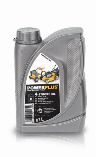 Motorový olej POWERPLUS POWOIL033 - Olej do 4-taktních motorů, 1 litr