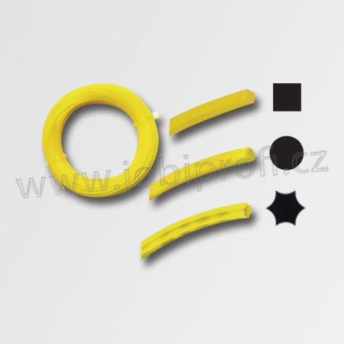 Žací struna CORONA PC3650 Struna 1.3/15m žlutá kulatá