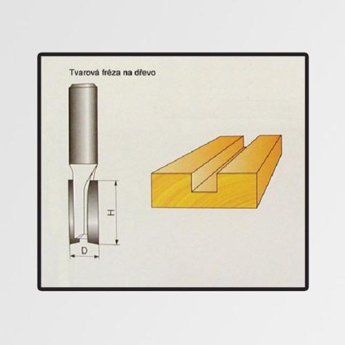 Příslušenství k frézce STAVTOOL tvarové frézy do dřeva 10x19mm P70203