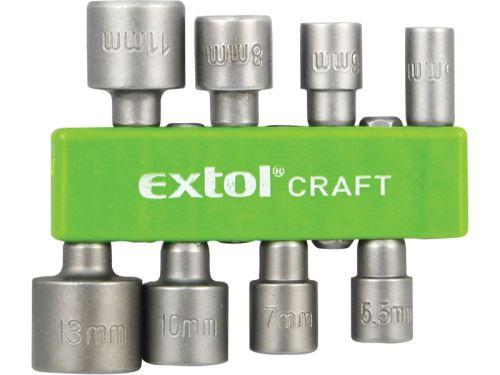 Sada nástrčných hlavic EXTOL CRAFT hlavice nástrčné do vrtačky 10213