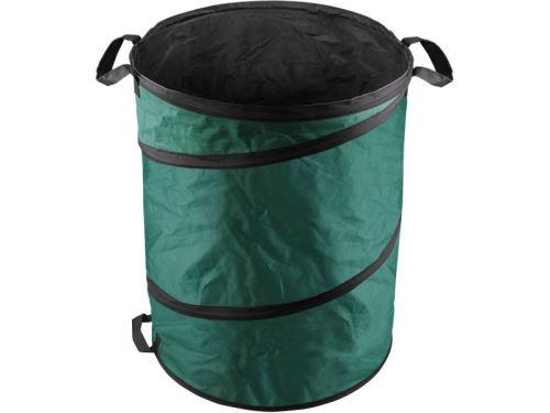 Koš EXTOL CRAFT koš skládací na listí a zahradní odpad, 55x72cm, 170L, 3 držadla, PES, 92900