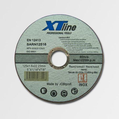 Flex kotouč řezný 115 mm XTline řezný kotouč na nerez 115x1,6x22 SARN11516