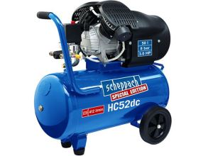 Olejový kompresor HC 52 dc s třídílnou sadou