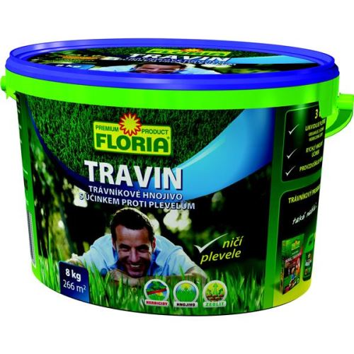 Hnojivo AGRO Hnojivo KT Travin 8 kg