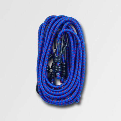 Upínací guma STAVTOOL P10100, Sada 4ks gum. popruhů 1,0m, pr. 8mm,
