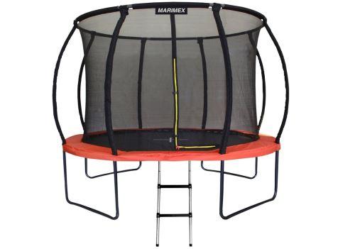 Trampolína Marimex PREMIUM 305 cm + vnitřní ochranná síť + schůdky ZDARMA, 19000085