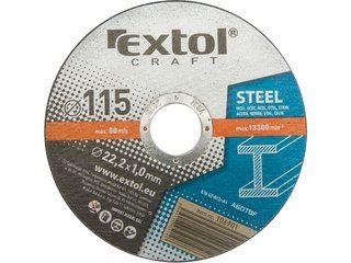 Flex kotouč řezný 125 mm EXTOL CRAFT kotouče řezné na kov, 5ks, 125x1,0x22,2mm, 106902