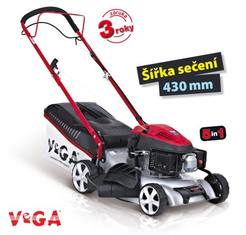 Benzínová sekačka s pojezdem VeGA 424 SDX 5in1