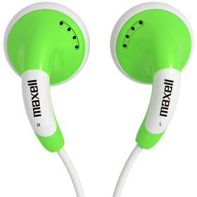 Sluchátka do uší - miniaturní MAXELL 303361 COLOUR BUDZ GREEN SLUCH.