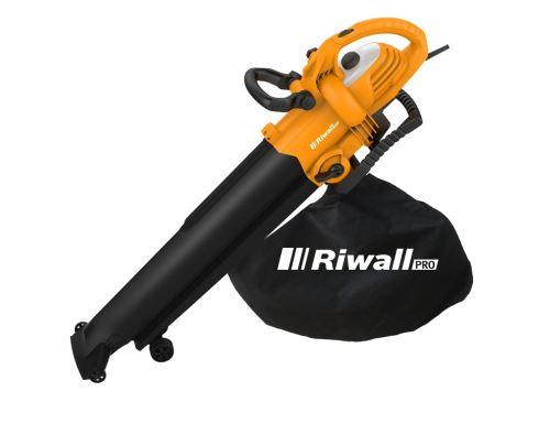 Vysavač/fukar listí - elektrický Riwall PRO REBV 3000