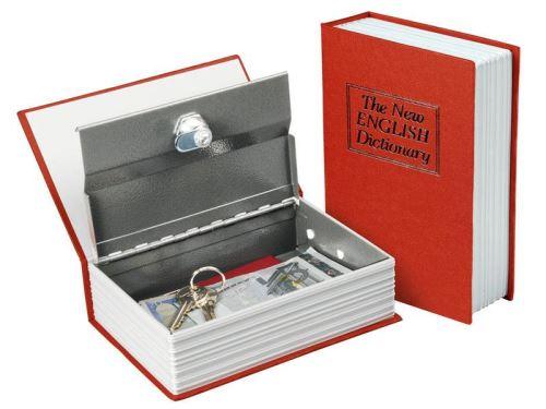 Trezory a schránky EXTOL schránka bezpečnostní - knížka, 99025