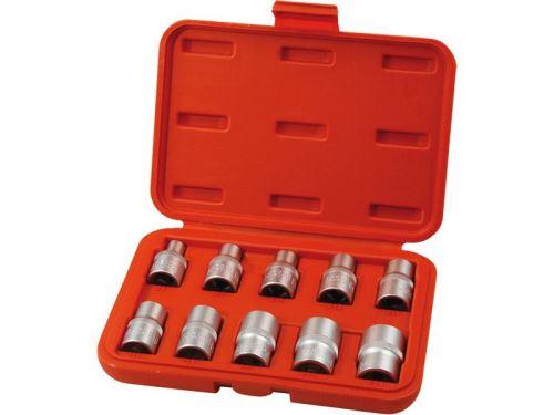 Sada nástrčných hlavic EXTOL PREMIUM hlavice nástrčné 1/2,vnitřní TORX E8-E24 8818128