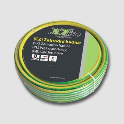 Hadice zahradní XTline T30275, 25m Astra Yellow PROFI 1/2