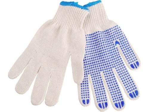 DOMATECH.CZ Pracovní rukavice - řetízkový úplet a protiskluzové terčíky