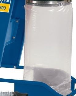 Příslušenství k odsavači WOODSTER vak plastový na piliny pro HD 12, HA 1600 a DC 12 75001500