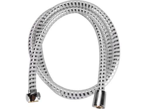 Sprchová hadice VIKING hadice sprchová, stříbrný pruh, 150cm, PVC, VIKING, 630227