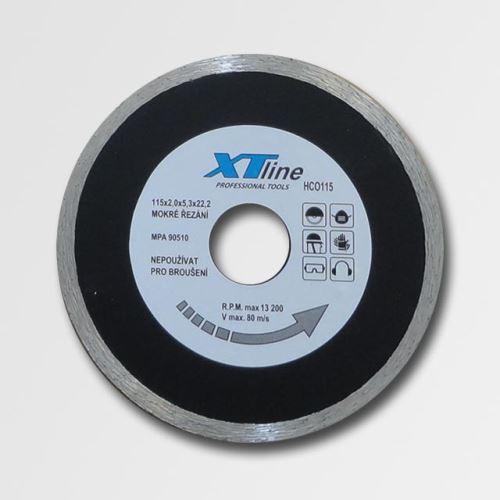 Diamantový kotouč XTline diamant.kotouč plný 115x22,2 HCO115
