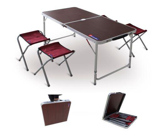 Kempingový nábytek VeGA Campingový skládací set VeGA