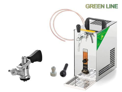 Lindr PYGMY 25 GREEN LINE, BAJONET, AUTOVENTIL