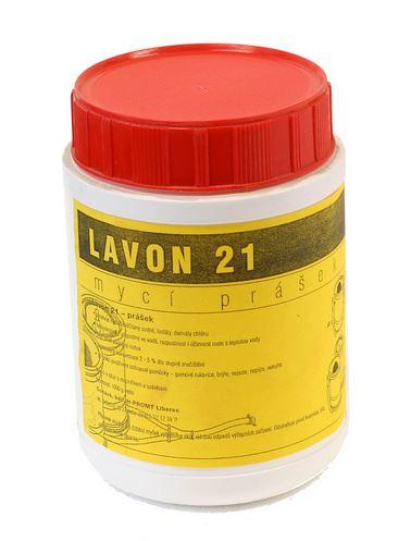 Mycí přípravek Lindr Sanitační prášek 1000g Lavon / Noval