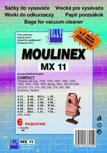 Příslušenství - sáček JOLLY Filtr do vysavače MX 11 pro MOULINEX ( 6