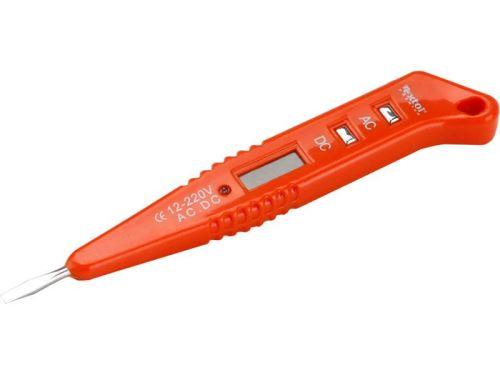 Zkoušečka napětí EXTOL PREMIUM zkoušečka napětí digitální, 8831210