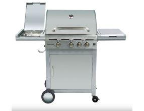 Gril G21 California BBQ Premium Line, 6390305 + obal na gril a grilovací moterek s jehlou