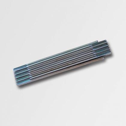 Skládací metr Xtline Metr 1m skládací dřevěný P13031