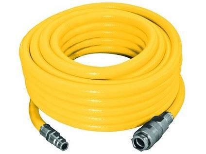 Tlaková hadice PROTECO hadice tlaková PVC opletená 13/19mm 15 m s rychlospojkami STOP, 10.2502-131915
