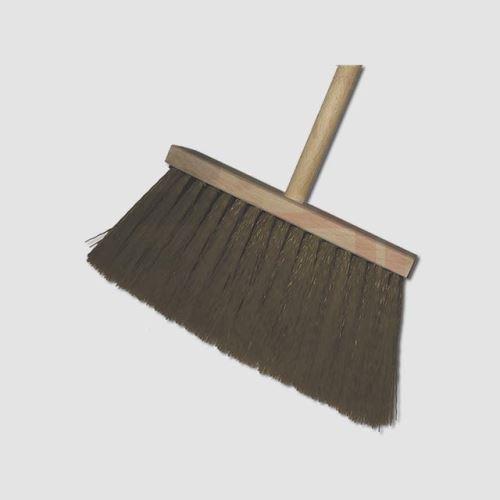 Koště XTline JAD5351, koště úklid.s holí dřev.hněd.vlas 09-802