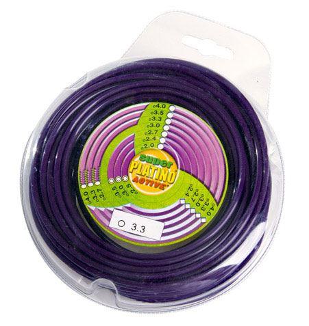 Žací struna ACTIVE Platino Nylon 15m, kruh, 1.3mm