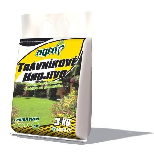 Hnojivo AGRO Hnojivo  Trávníkové 3 kg