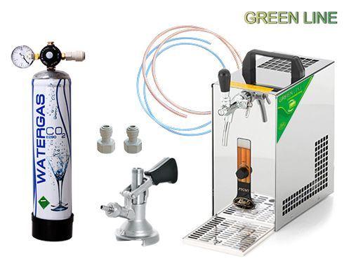 Lindr PYGMY 25 GREEN LINE, PLOCHÝ, CO2 MINI