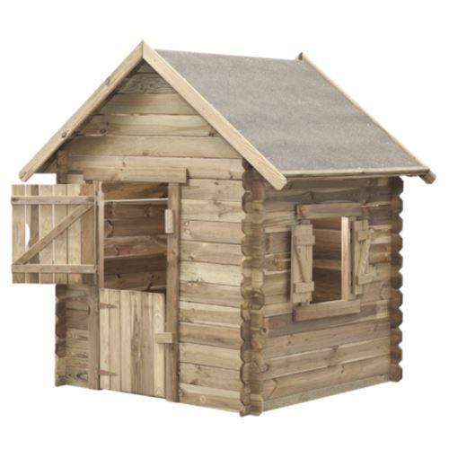 MARIMEX Domeček dětský dřevěný Western